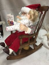 Telco Rocking Santa Claus Motion-ettes of Christmas Animated Display Figure