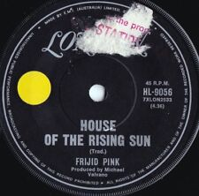 Frijid Pink ORIG OZ 45 House of the rising sun VG+ 70 London HL9056 Detroit Rock