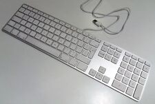 Genuine Apple Wired Aluminium Extended Keyboard A1243 British qwerty USB iMac