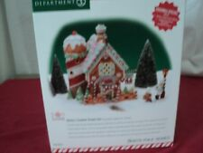NORTH POLE DEPT 56 Ginny's Cookie Treats Set   #56.56732   preowned complete