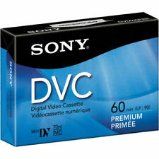 Sony DVC Digital Video Cassette Tapes - 60 Minutes 5 pack NEW
