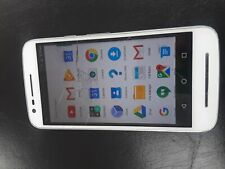 Motorola Moto E3 XT1700 4g White  Bargain Read Descrption crack digitizer