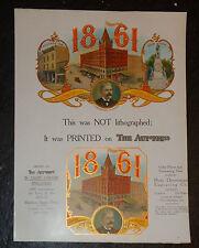old cigar box label 1861 Weideman Co salesman printer sample Autopress