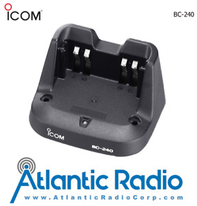 Icom BC-240 Desktop Rapid Charger with Power Supply for the V86 Portable Radio