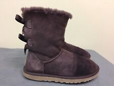 UGG AUSTRALIA BAILEY PURPLE BOW BOOT WOMEN SHOES SIZE 6  -  style # 1002954