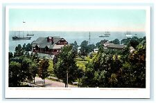 Casino Park & Newport News Academy Virginia VA UDB Postcard Detroit Publishing