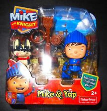 Fisher-Price Mike The Knight Mike Training Post and Yap Figure Pack New Sealed