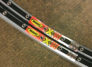 "Retro Kult set (2) NOS NEW Mavic X517 rims rimset 26"" 36 hole MTB mountainbike"