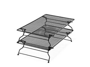 Pampered Chef Stackable Cooling Rack Set #1588 - Free Shipping