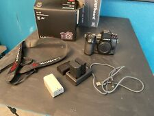 Panasonic LUMIX G9 20.3 MP Digital Camera Body- Black w/ Box and 3 Batteries