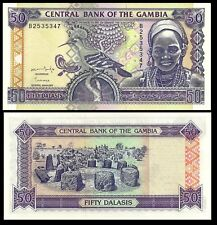 New listing Gambia 50 Dalasis Nd 1996 P 19 Choice Unc