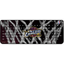 Cleveland Cavs NBA Champs Wireless USB Keyboard NBA Official License PC or MAC!