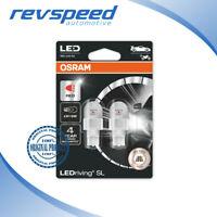 OSRAM W16W T16 LED LEDriving Premium SL 6000K Cool White Bulbs 921DWP