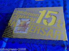 JAPAN LTD ED Pokemon Center 15th Anniv. 2013 Premium Card Set PIKACHU 229/BW-P