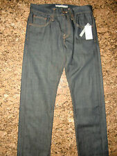 NWT MEN VINCE DARK WASH JEANS W29 L 33 MADE IN AMERICA $185.00