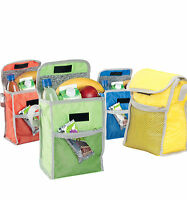 5L Foil Insulated Cooler Bag Lunch Food Cans Ice Box Summer Camping Picnic Bags