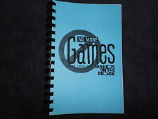 Rare 1990 New Kids On The Block Concert Itinerary Log for Band & Crew Only
