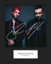 TWENTY ONE PILOTS #1 10x8 SIGNED Mounted Photo Print - FREE DELIVERY