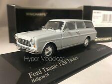 MINICHAMPS 1/43 Ford Taunus 12M Turnier Break 1962 Grey ART. 400086110