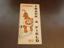 1972 OCCIDENTAL COLLEGE TRACK AND FIELD MEDIA GUIDE  EX-MINT