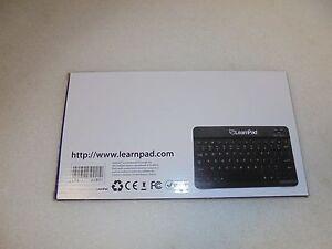 NEW LearnPad Bluetooth Keyboard for LearnPad Quarto LPQ-ASC-BKB01