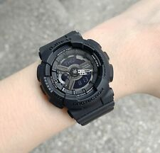 Casio Baby-G * BA110BC-1A Anadigi Black Resin Watch for Women Ivanandsophia