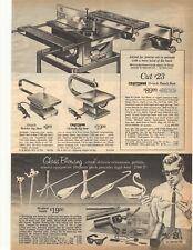 1965 Panca CRAFTSMAN visto, Jig Saw, TRAPANO, Power Tools BIADESIVO Sears ADVERTI