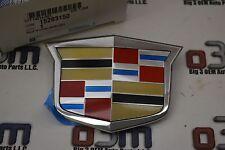 08-11 Cadillac CTS 12-13 CTS-V Front Grille Chrome Crest Emblem new OEM