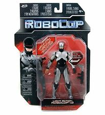 "Robocop Light Action 6 Inch ROBOCOP 1.0 SILVER 6"" Jada Toys Brand New & Sealed"