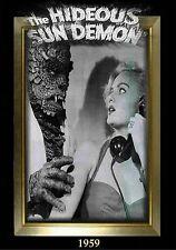 MAGNET Movie Monster Photo Magnet The HIDEOUS SUN DEMON 1959