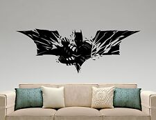 Batman Wall Decal Vinyl Sticker Comics Superheroes Art Kids Boys Room Decor 4ezz