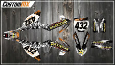 KTM SX50 SX65 Graphics Kit with custom numbers etc - SX 50 65 2002-2019