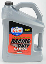 Racing Only 20w50 Oil, Lucas 20w-50 SAE Mineral, High Perfomance