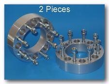 "2 Pc Ford E250 E350 F250  8 Lug Wheel Spacers 8x6.5 - 2"" inch - 9/16"" Stud"