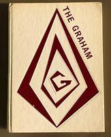 1975 GRAHAM HIGH SCHOOL YEARBOOK, THE GRAHAM, BLUEFIELD, VA