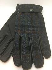 Men's Failsworth Genuine Leather & Harris Tweed Gloves