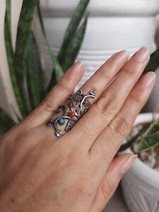 Sterling Silver Tree Branch Ring