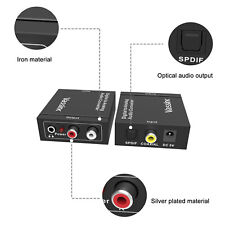 Vassink Digital to Analog Audio Converter Optical Coaxial Rca L/R Stereo Audio
