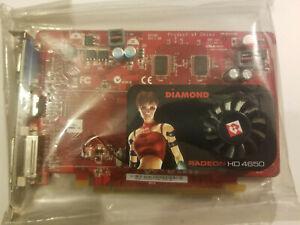 Diamond ATI Radeon HD 4650 PCI E 1GB GDDR2 Video Card 100106 DVI HDMI VGA