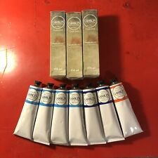 New listing Gamblin Artist's Oil Colors lot of 10 tubes of 150ml Cerulean Cadmium