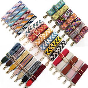 Stripes Handbag Adjustable Shoulder Bag Strap Replacement Handle Belt Crossbody