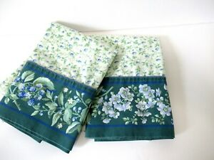 laura ashley bramble berry king size pair pillow cases very good condition