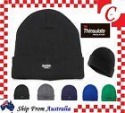MEN WINTER Warm Ski Plain Knit THINSULATE 40G Thermal INSULATION BEANIE Hat Cap