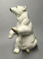 Lorenz Hutschenreuther Polar Bear Figurine Achtziger Germany Porcelain
