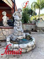 STATUE in miniatura segreto MONDO INCANTATO CASA Ornamenti esterni stagno e ruota