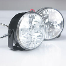 One pair of LED Round DRL Daytime Running Light Car Fog Light Driving Lamp