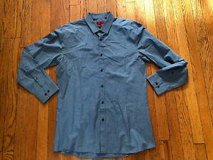 Hugo Boss Men's Slim Fit Dress Shirt  Size 16, 34-35 41