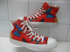 ba67052a24de LIMITED EDITION DAMIEN HIRST Butterfly CONVERSE ALL STAR RED boots shoes  hitops