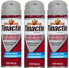 Tinactin Antifungal LIQUID Spray 5.3oz ( 3 pack ) PRIORITY SHIP!***