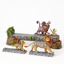 Disney Carefree Camaraderie (simba Timon & Pumba Figurita)